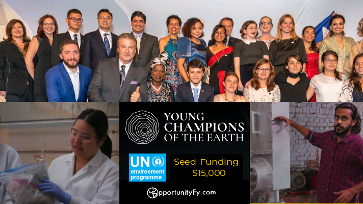 UN Young Champions of the Earth 2020 - Get Seed Funding upto US $15000