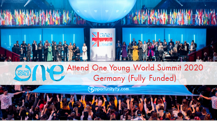 One Young World 2020 Scholarship Application